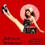 Wonderland Gig Flier - Spring '08